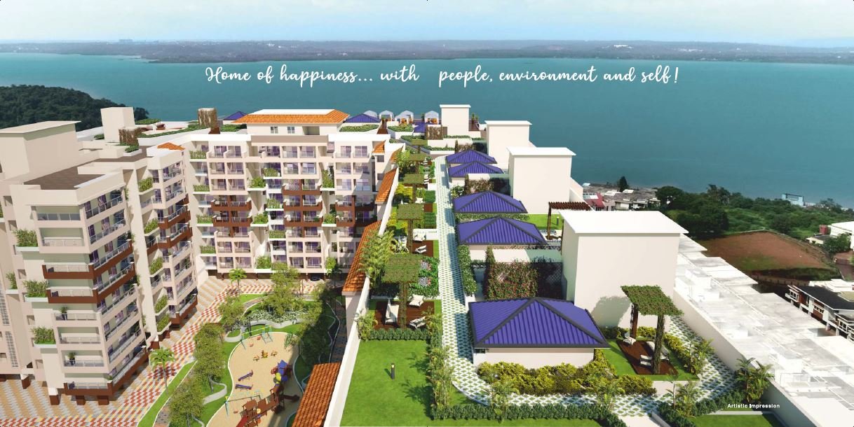 MVR LAGUNA AZUL 2 & 3 BHK Apartments in Goa